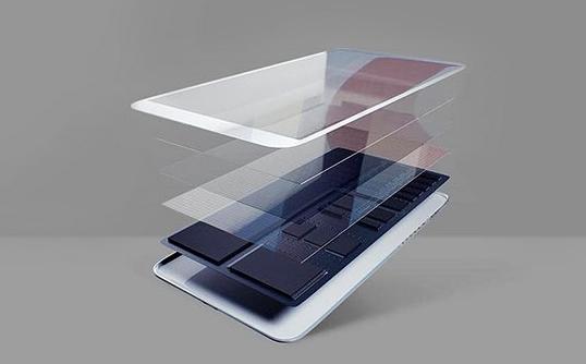 手机玻璃盖板组成及测量