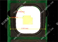 LED尺寸测量实例