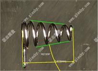 高精度测量弹簧实时画面(图例)