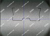 五金弹片弧度测量,μm级精度测量实例(图例)