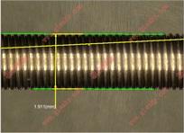 弹簧测量仪使用实例,解决弹簧各项尺寸测量(图例)