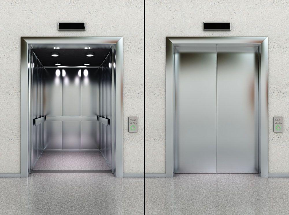极志测量电梯门平面度高精度、便捷并存