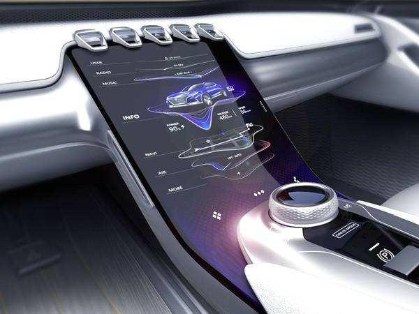 高精度测量汽车曲面屏中控翘曲度,提升车内科技感