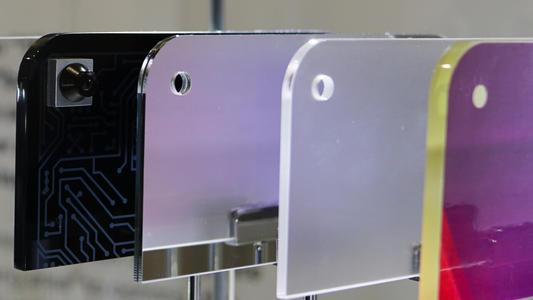 无损高精度测量挖孔屏孔径尺寸