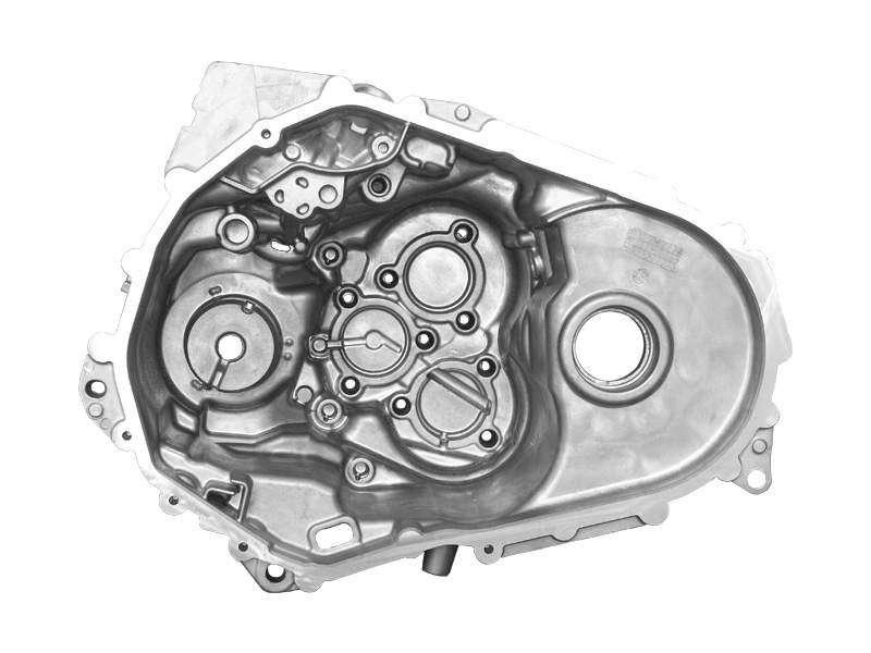 变速箱壳平面度高精度测量,钣金等大型工件皆适用