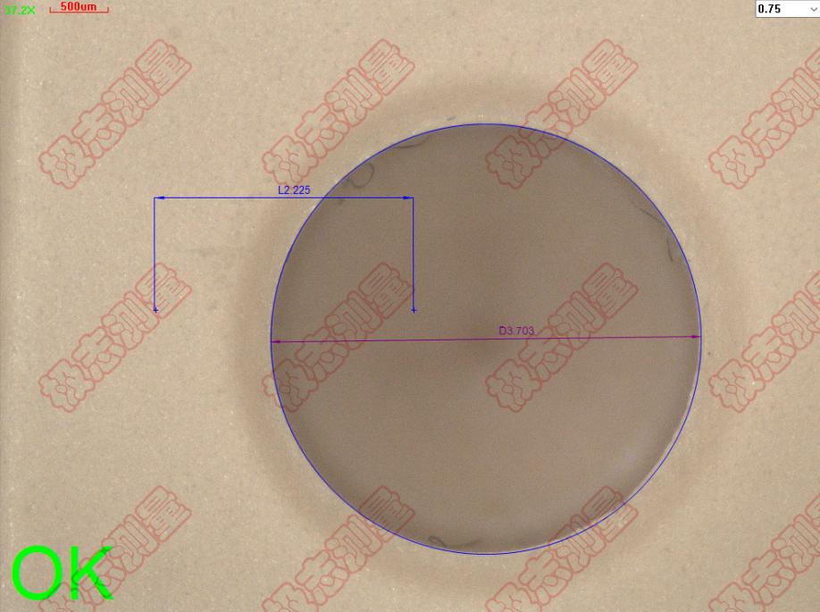 陶瓷介质滤波器高精度测量,适用于各类5G行业高标准工件