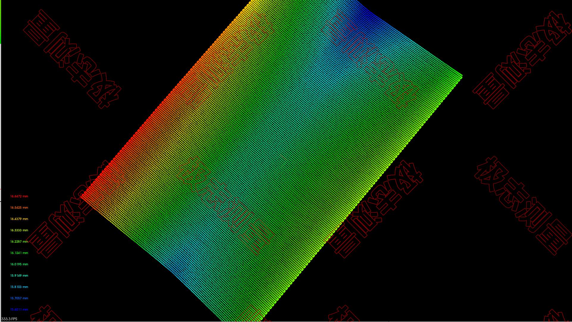 柔性屏的平整度应该怎么测量?高精度减少塑料感