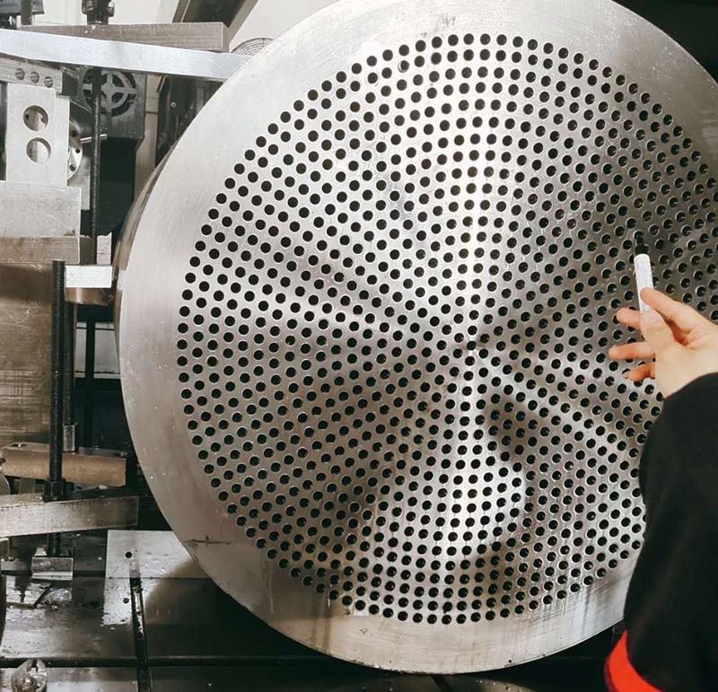CNC加工大型钢板成品高精度测量