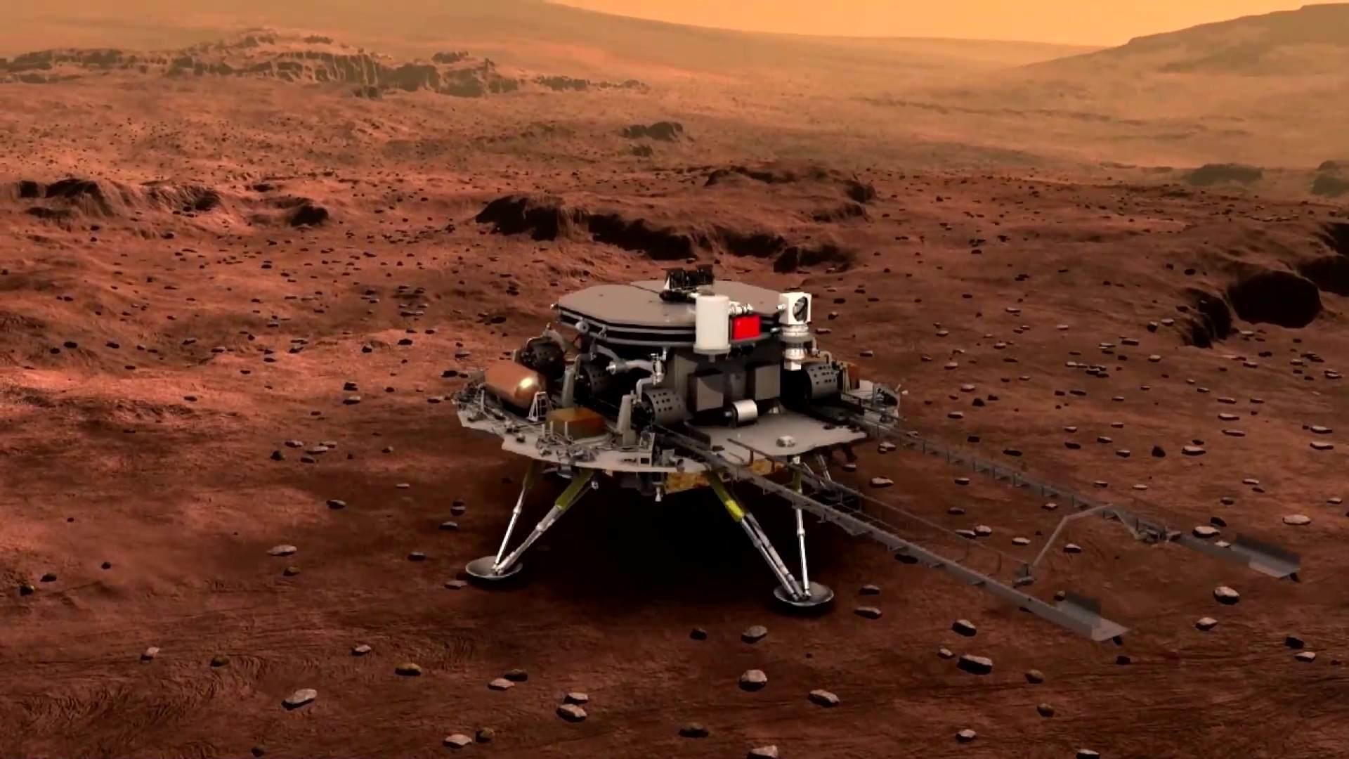 致敬伟大的中国航天,祝愿火星探索顺利完成
