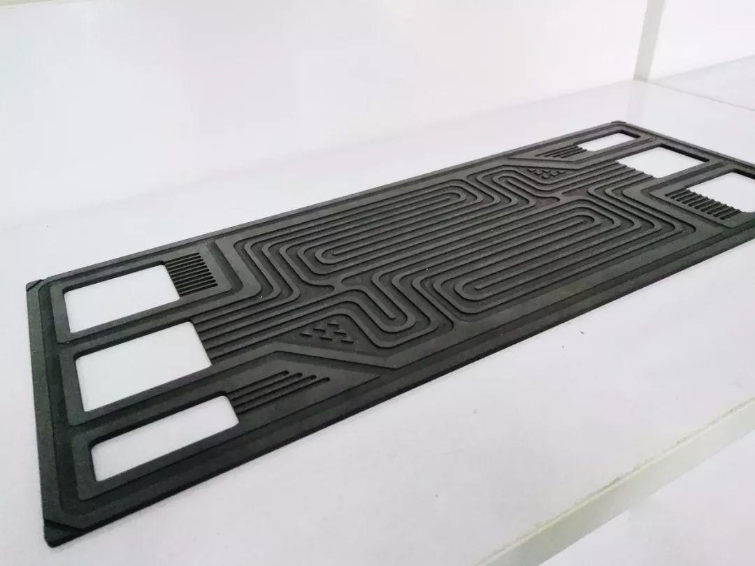 石墨双极板流道平面度测量,高精度完成人工无法企及的数据测量
