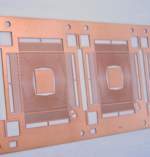 IC引线框架需要测量什么项目?自动影像测量仪覆盖IC引线框架表面尺寸测量