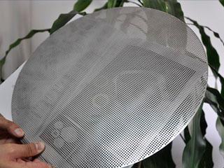 筛网孔径如何快速测量?极志影像测量仪阵列功能高效完成