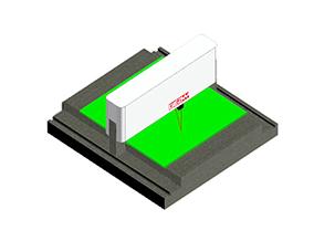 大玻璃平面度检测/钣金平面度测量仪/线路板平面度翘曲度测量仪
