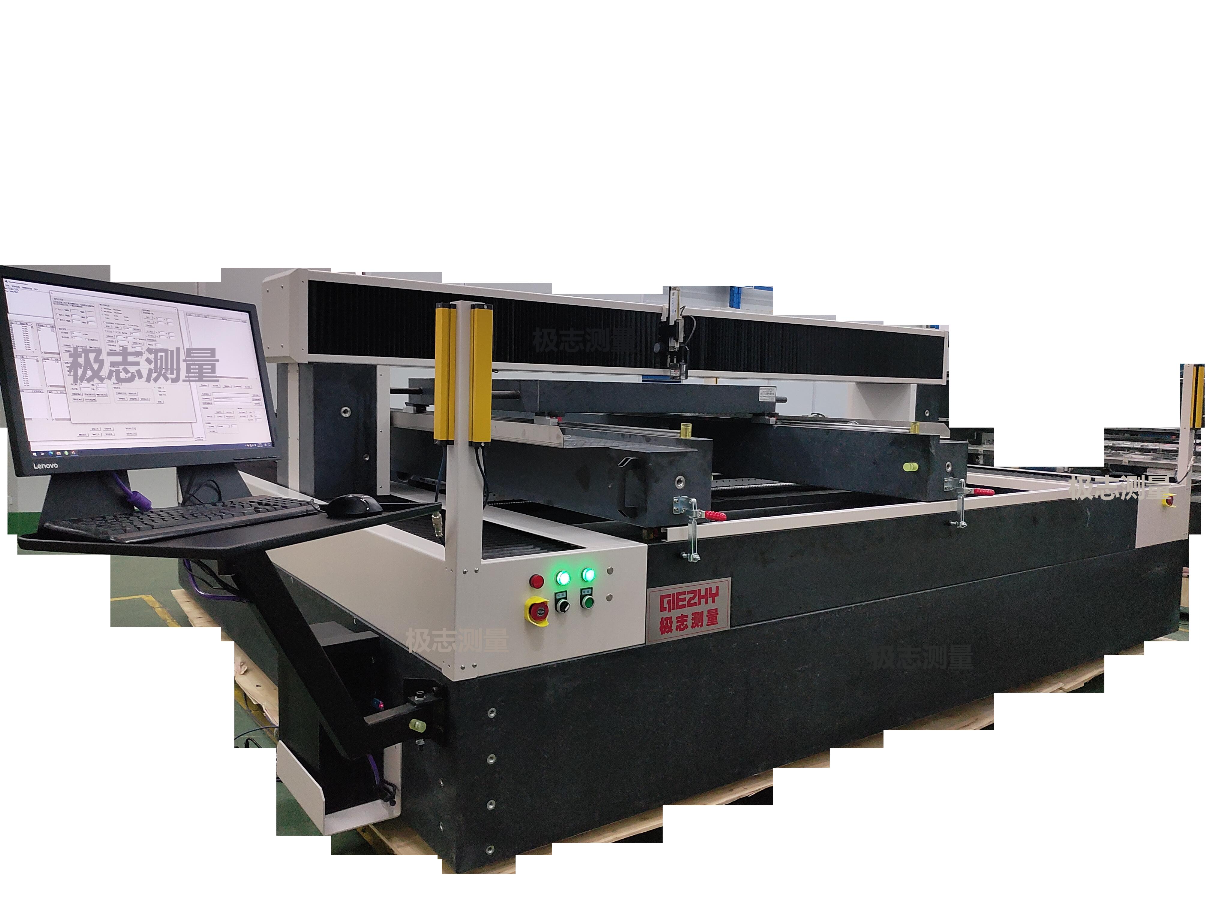 板层激光检测机|钢板平面度测量仪